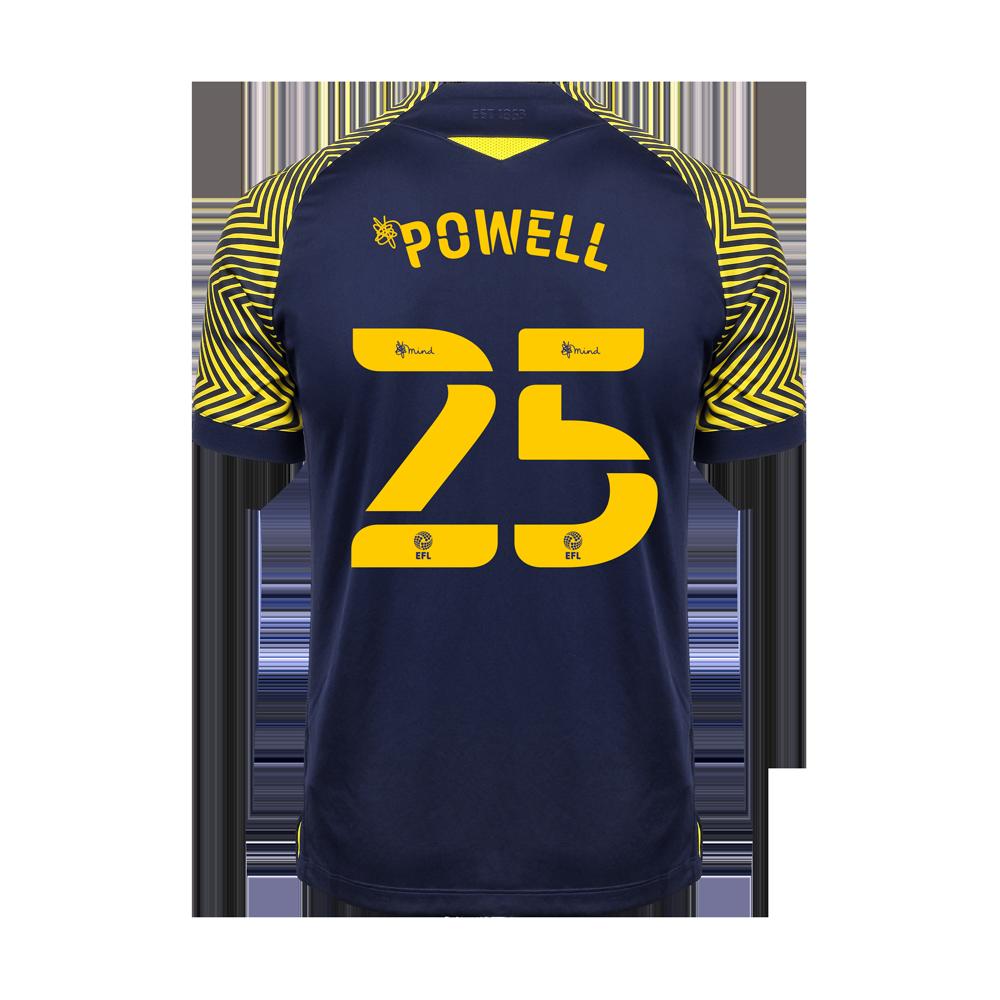 2020/21 Junior Away SS Shirt - Powell