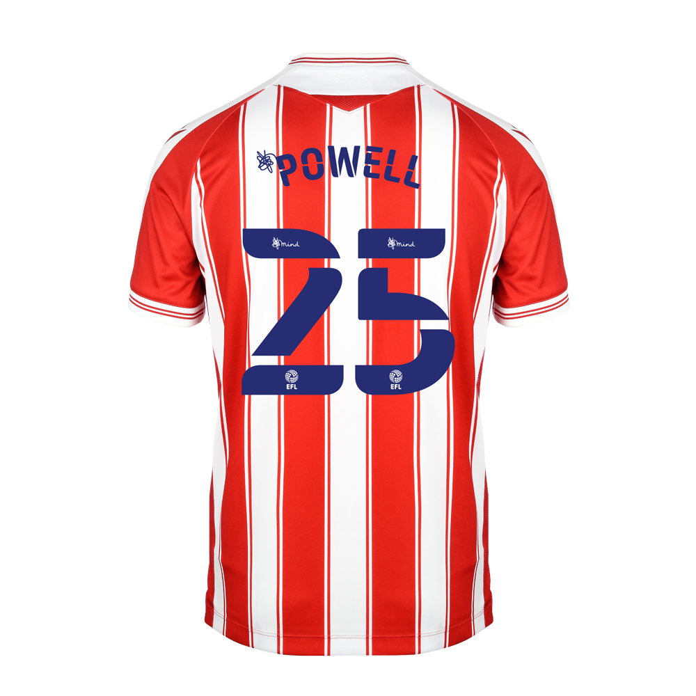 2020/21 Junior Home SS Shirt - Powell