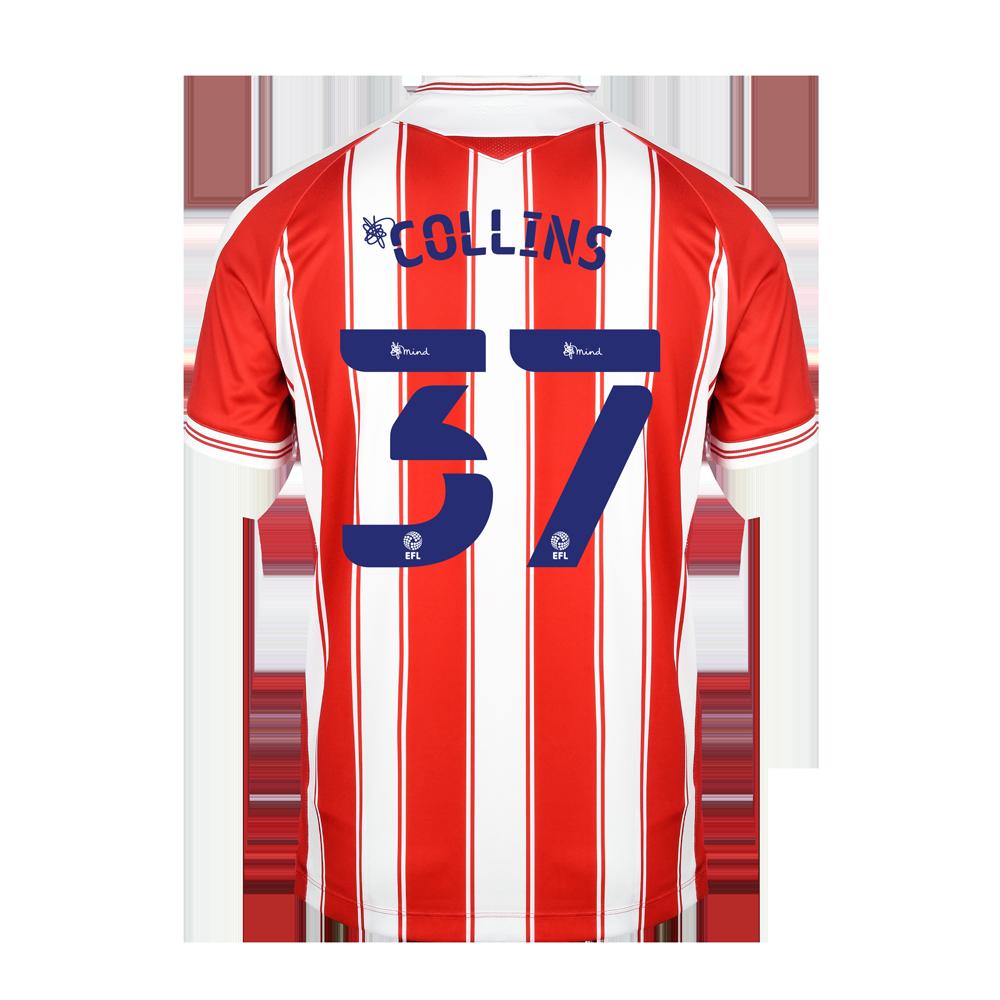 2020/21 Junior Home SS Shirt - Collins