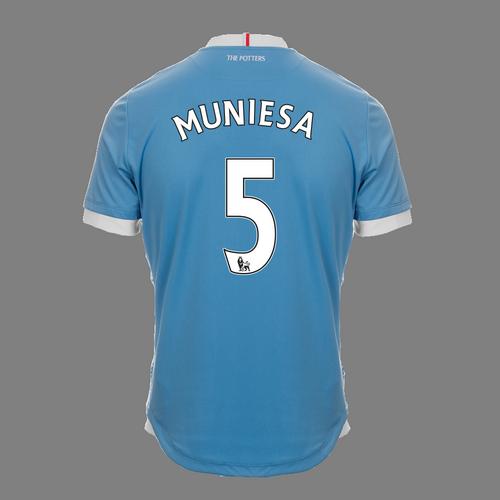 2016-17 Adult Away SS Shirt - Muniesa