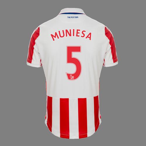 2016-17 Ladies Fit SS Home Shirt - Muniesa