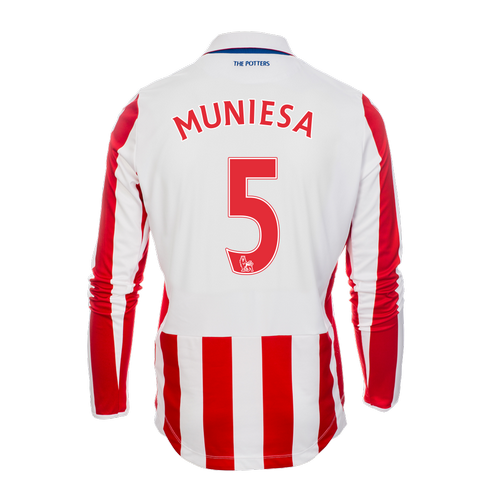 2016-17 Adult Home LS Shirt - Muniesa