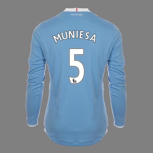 2016-17 Adult Away LS Shirt - Muniesa