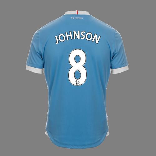 2016-17 Junior Away SS Shirt - Johnson