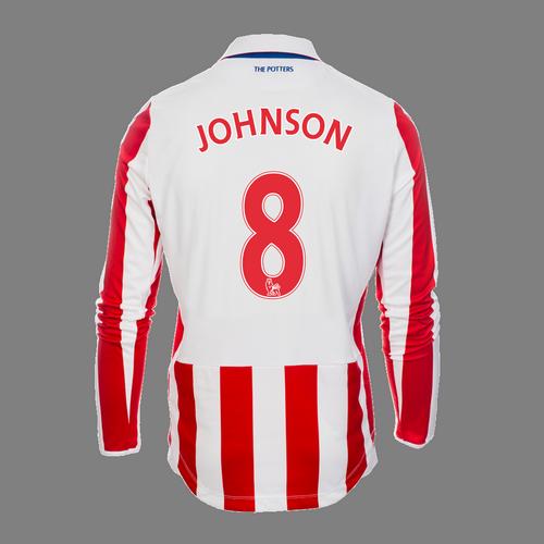 2016-17 Adult Home LS Shirt - Johnson