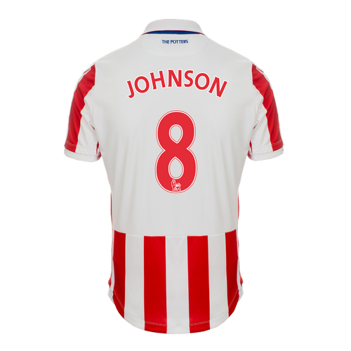 2016-17 Adult Home SS Shirt - Johnson