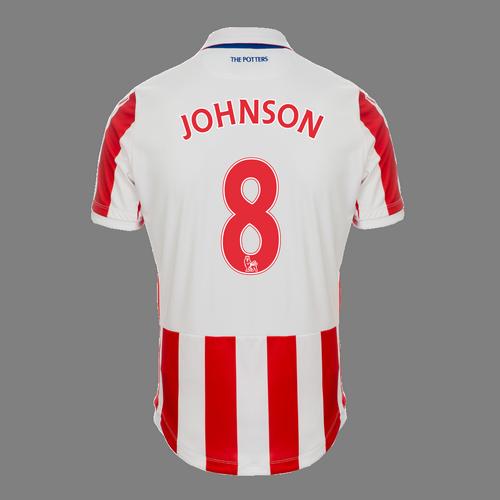 2016-17 Ladies Fit SS Home Shirt - Johnson