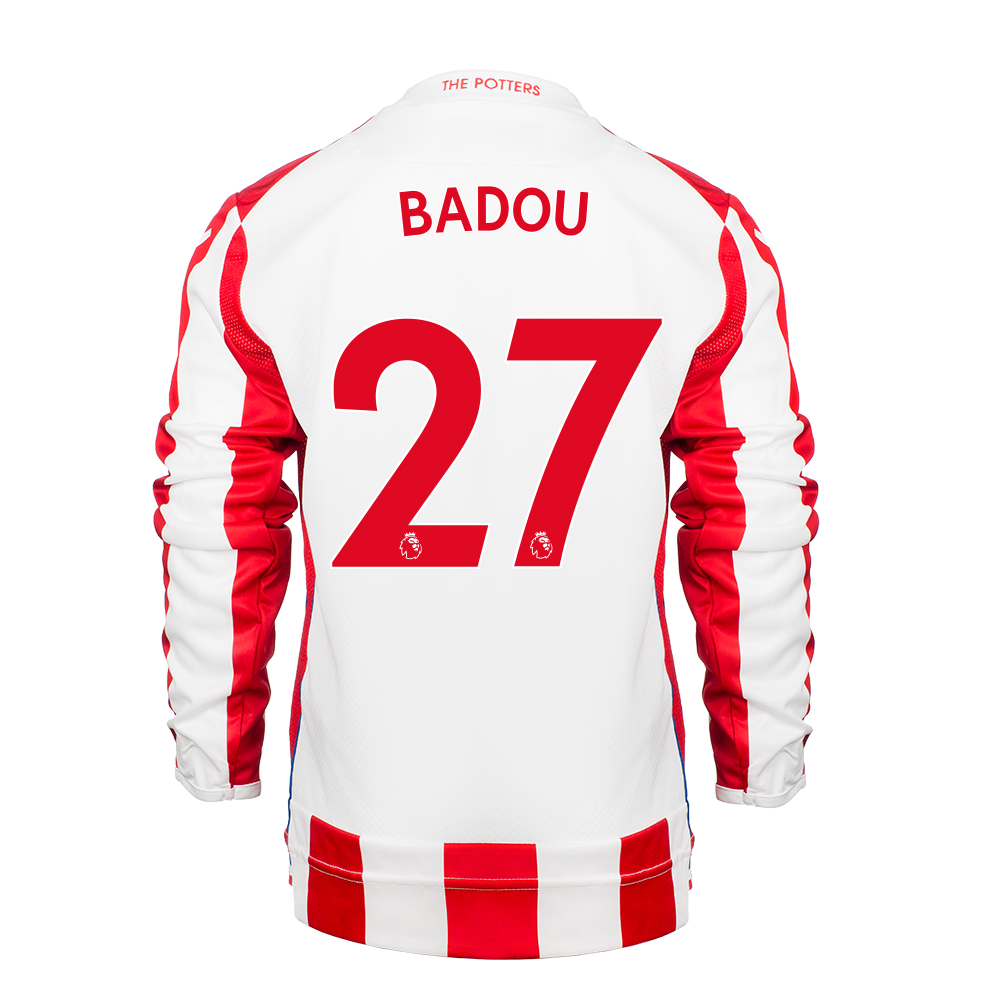 2017/18 Junior Home LS Shirt - Badou