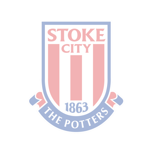 Stoke City Number Plate Trim