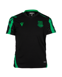 2021/22 Junior Training Poly T-Shirt - BLACK