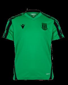 2021/22 Junior Training Poly T-Shirt - GREEN