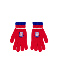 Adam Junior Knit Glove RED JUNIOR