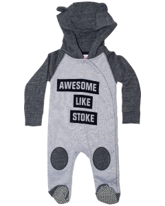 Awesome Hooded Sleepsuit
