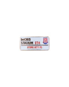 bet365 street sign pin badge