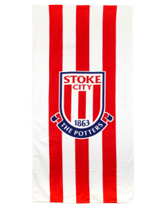 Crest and Stripe Towel