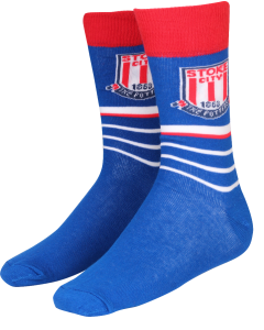 Crest Stripe Sock