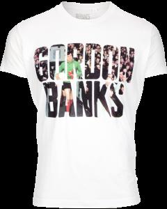 Gordon Banks T-Shirt - White