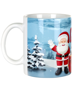 Santa Sleigh Mug