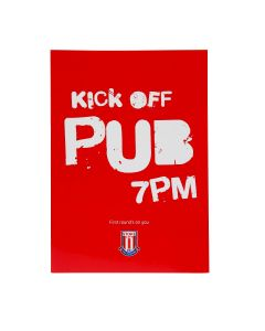 Kick Off  Pub 7pm Card