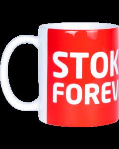 Stoke City Forever Mug