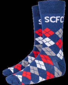 Multi Argyle SCFC Sock
