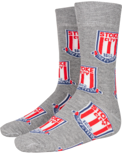 Multi Crest Sock GREY SHOE SIZE 7-11