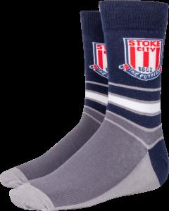 Stripe dress sock
