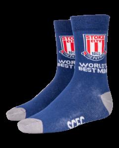 Worlds Best MUM Sock