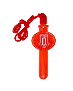 Stoke City Bubble Blower Lanyard