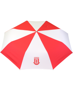 Telescopic Umbrella RED/WHITE N/A