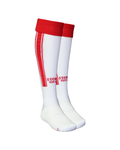 2020/21 Junior Home Sock White