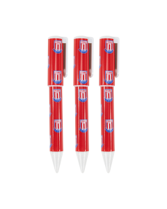 3 Pack of Pens RED/WHITE ONE SIZE