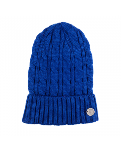 Cable Knit Crest Bronx Hat