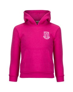 Essential Junior Hooded Sweat - Pink