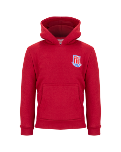 Essential Junior hooded sweat - Red