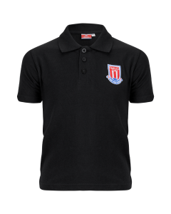 Essentials Junior Polo Shirt - Black