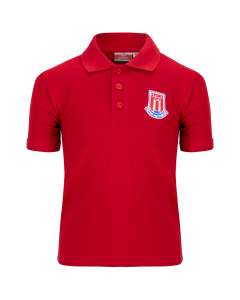 Essentials Junior Polo Shirt - RED