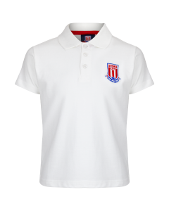 Essentials Junior Polo Shirt - White