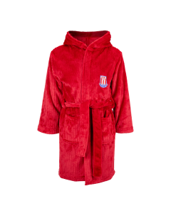 Mars Junior Dressing Gown - RED