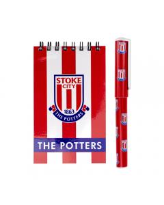 Stoke City Notepad & Pen