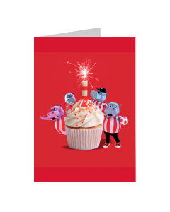 Pottermus, Cake & Candle Card
