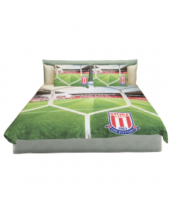 Stadium Print Double Duvet