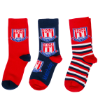 3 Pack Kids Socks