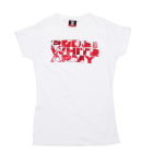 Ladies Red & White Army T-Shirt