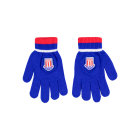 Adam Junior Knit Glove BLUE JUNIOR