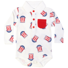 Multi Crest LS Bodysuit