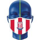 Red & White Stoke City Face Covering
