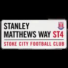 Stanley Matthews Way Street Sign