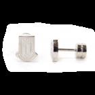 Crest Stud Earring- PAIR