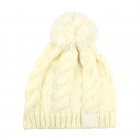 Ladies Faux Fur Bobble Hat